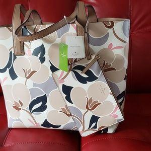 Kate Spade Mya Breezy Floral Tote NWT